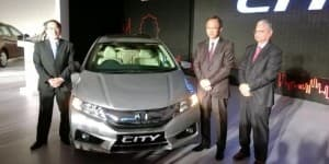 New Generation Honda City makes its global debut in India
