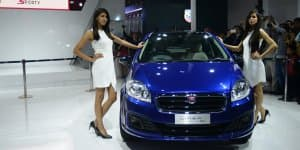 Fiat Linea 125s Unveiled at 2016 Auto Expo