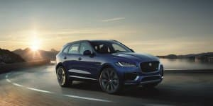 Jaguar F-Pace makes its Indian debut at Auto Expo 2016