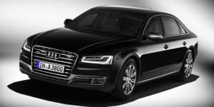 Audi A8 L Security Launched at Rs. 9.15 Crores at 2016 Auto Expo