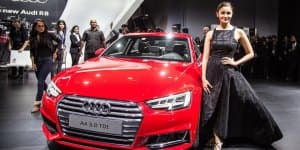 Auto Expo 2016 – Audi unveils the new A4