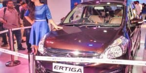 Maruti Ertiga Limited Edition Unveiled at 2016 Auto Expo