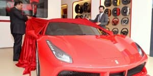 Ferrari 488 GTB Launched at Rs. 3.88 crores