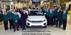 500,000th Range Rover Evoque Produced at Halewood in UK