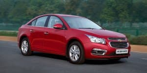 2016 Chevrolet Cruze Now Starts at Rs. 13.95 Lakhs