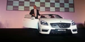 Mercedes-Benz India rolls out SLK 55 AMG at Rs 1.26 crore