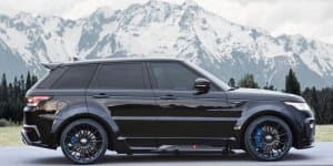 Mansory launches customization program for Range Rover Sport