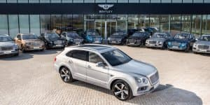 Bentley Bentyaga Deliveries Start