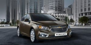 2016 Chevrolet Cruze Introduced with New 'Burnt Coconut' Color