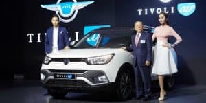 Mahindra SsangYong Tivoli XLV Launched in South Korea