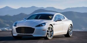 2016 Aston Martin Rapide Launched at Rs. 3.29 Crores