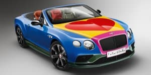 One-off Bentley Continental GT V8 S Convertible Revealed