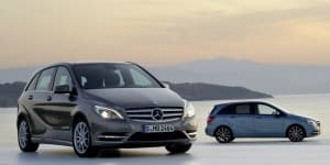 Mercedes-Benz B-Class crosses the million sales mark