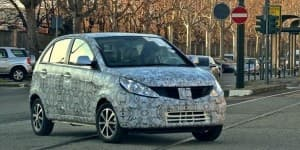 New 2014 Tata Vista Facelift aka Falcon 4 Spied