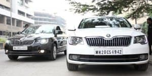 2014 Skoda Superb facelift launching very soon