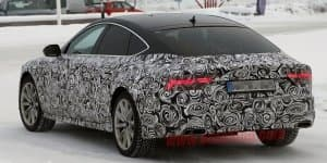Audi A7 spied testing