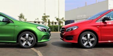 Mercedes-Benz A-Class and B-Class 'Night Edition' Launched in India