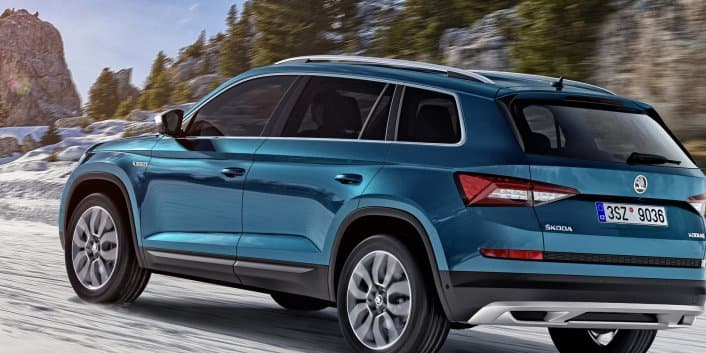 Skoda Kodiaq Scout unveiled; to be showcased at the 2017 Geneva Motor Show