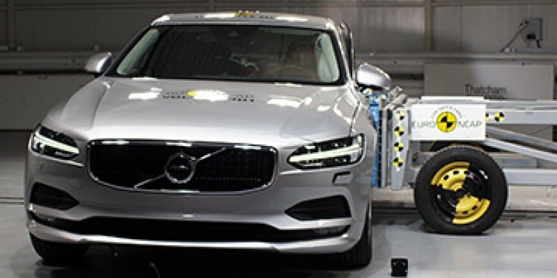Volvo S90 and V90 Get Best AEB Pedestrian safety ratings from Euro NCAP