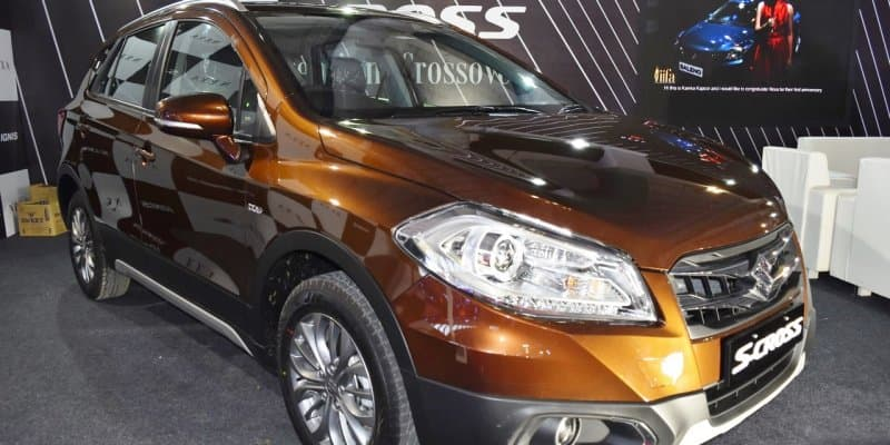All new Maruti Suzuki S-Cross showcased at the 2017 Surat Auto Expo