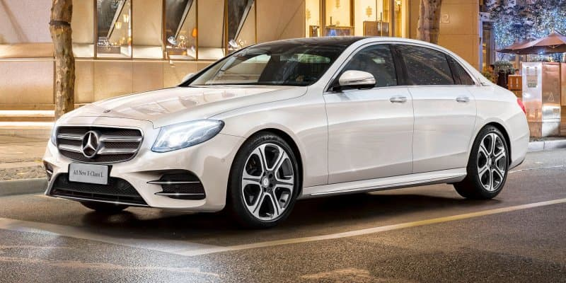 2017 Mercedes E-Class V213 with longer wheelbase launching in India in February