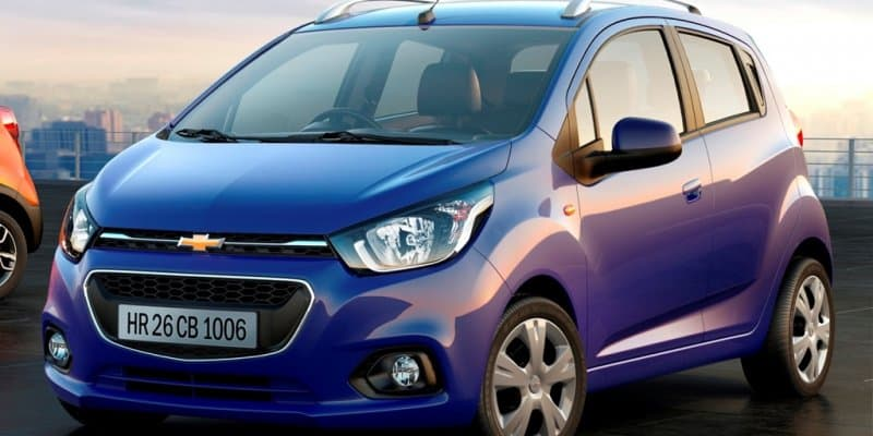 2017 Chevrolet Beat spied without camouflage, expected to launch by mid 2017