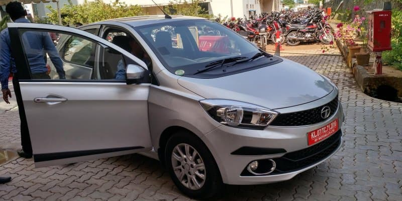 Tata Tiago's new AMT variant enters production; interiors spied