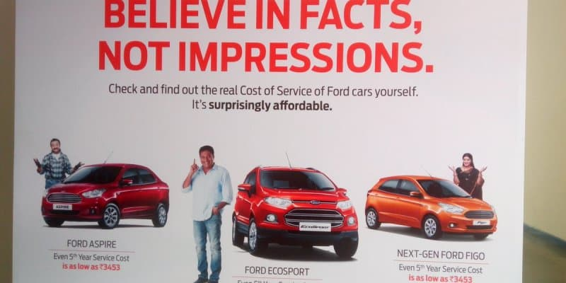 Ford India Shatters Myths Surrounding Service Cost