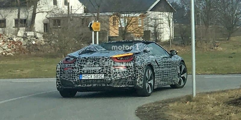 BMW i8 Spyder Spied For First Time