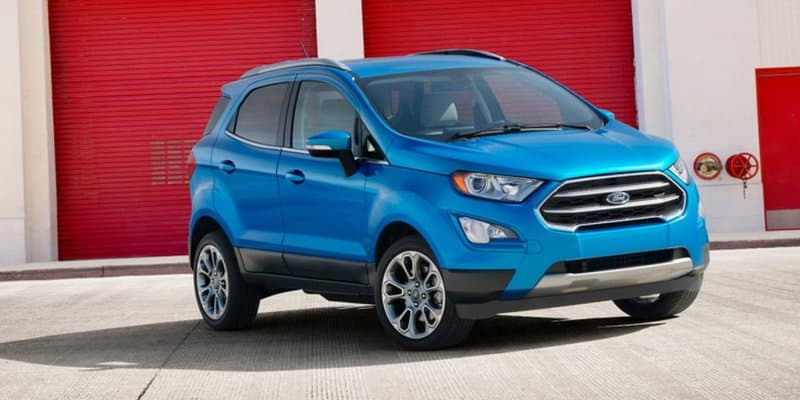 2018 Ford EcoSport has been spied in China; India launch expected in late 2017