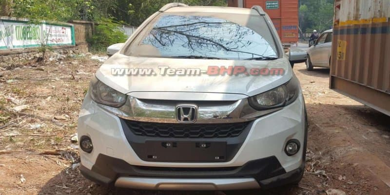 Honda WRV spotted at dealership ahead of launch