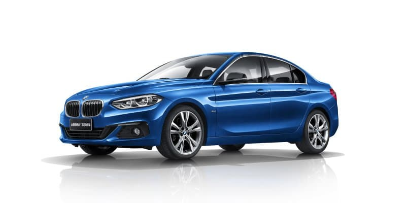 BMW 1 Series Sedan Launched in China