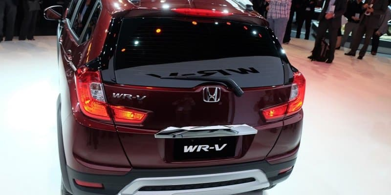 Honda WR-V interior spied; expected to be launched in March 2017