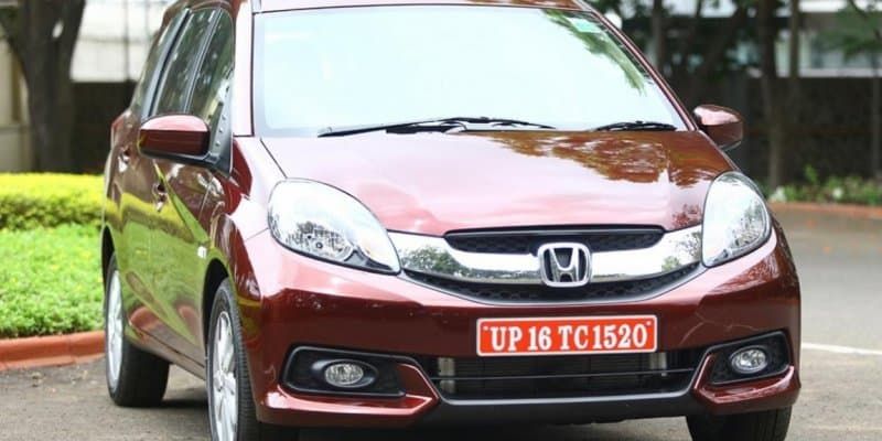 Honda Mobilio production discontinued due to poor sales