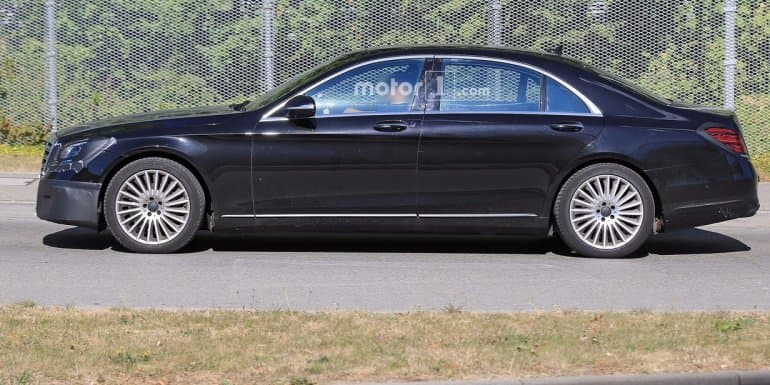 2018 Mercedes-Benz S-Class to make international debut in April