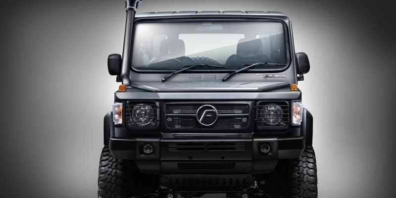 2017 Force Gurkha launched at Rs. 8.38 lakhs