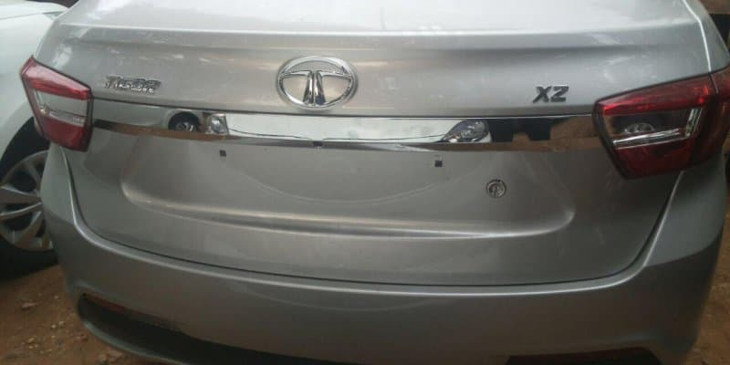 Tata Tigor spotted at dealership ahead of March 29 launch