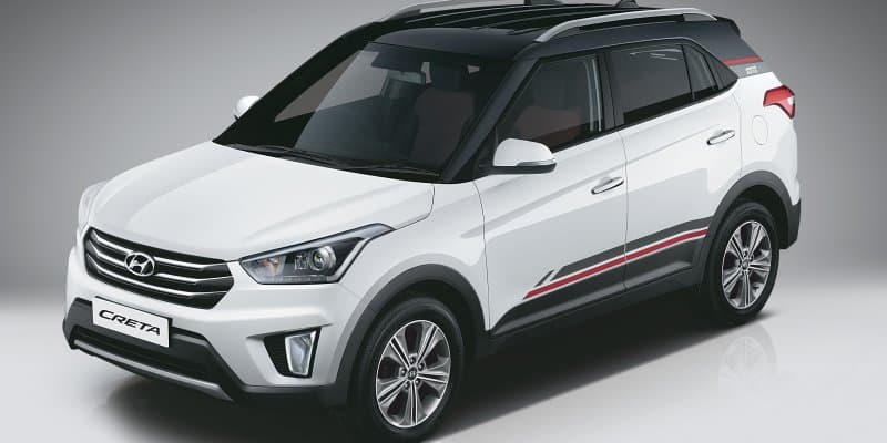 Hyundai Creta SX+ Dual Tone prices revealed