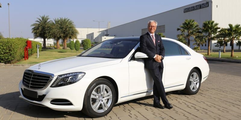 Mercedes Benz S-Class Connoisseur's Edition Launched at Rs. 1.21 Crores