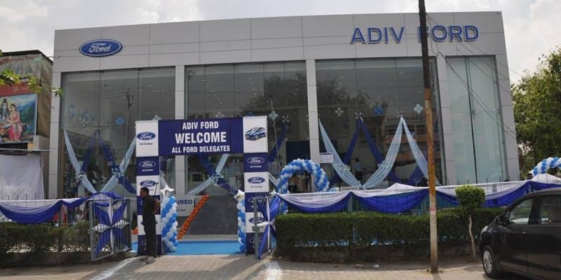 Ford India Opens New Dealership in Ghaziabad