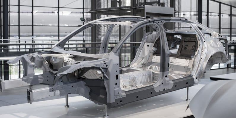 Audi to use mix of four materials to build A8 Space Frame