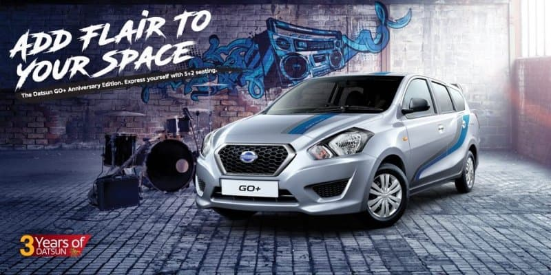 Datsun GO and GO+ Special Anniversary Editions Launched