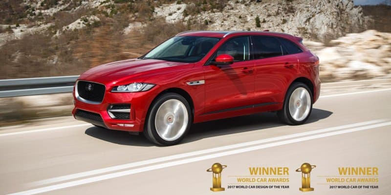 Jaguar F-PACE voted as the best car at 2017 World Car Awards