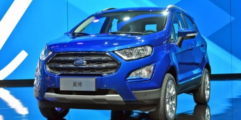 All-new Ford EcoSport Unveiled in China ahead of 2017 Auto Shanghai