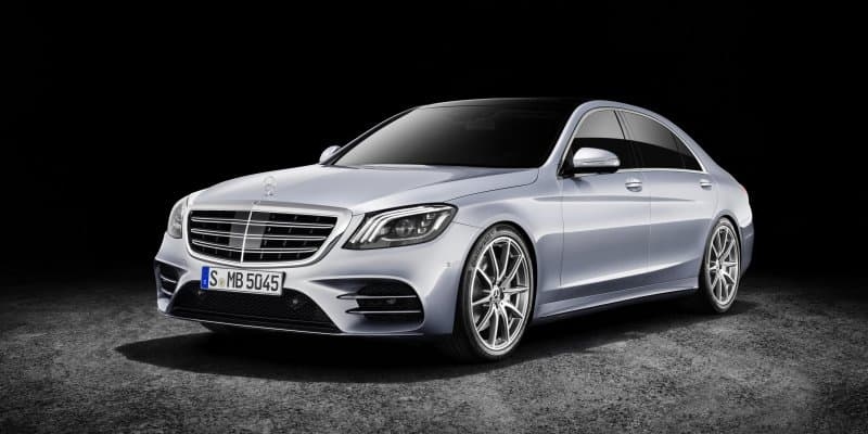 2017 Mercedes Benz S Class Unveiled at Auto Shanghai