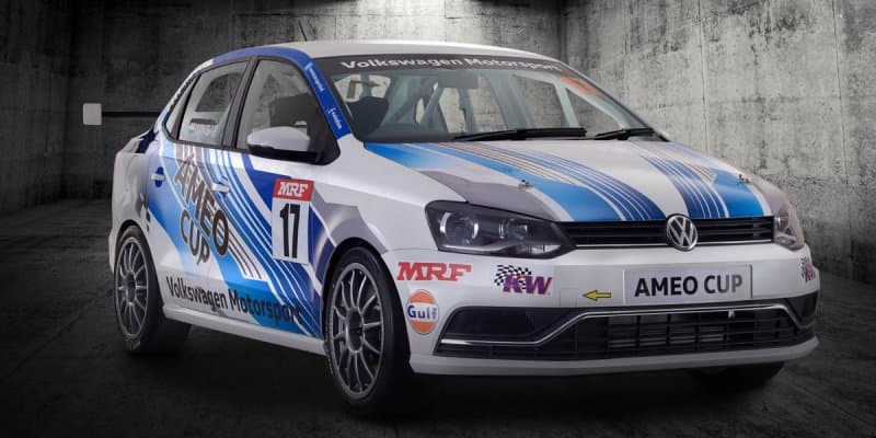 Volkswagen Ameo Cup Race Car Revealed