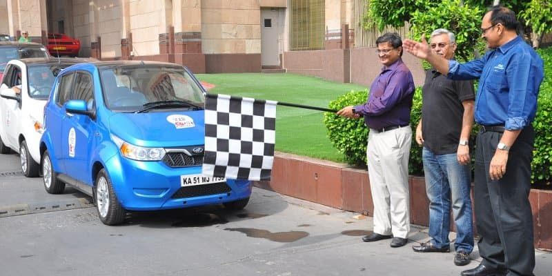 Mahindra 'Electric Drive' Conducted on World Earth Day