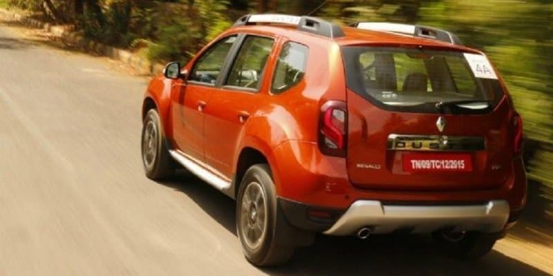 Renault Duster Petrol Automatic Priced at Rs. 10.30 Lakhs