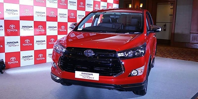 Toyota Innova Touring Sport Launched at Rs. 17.79 Lakhs
