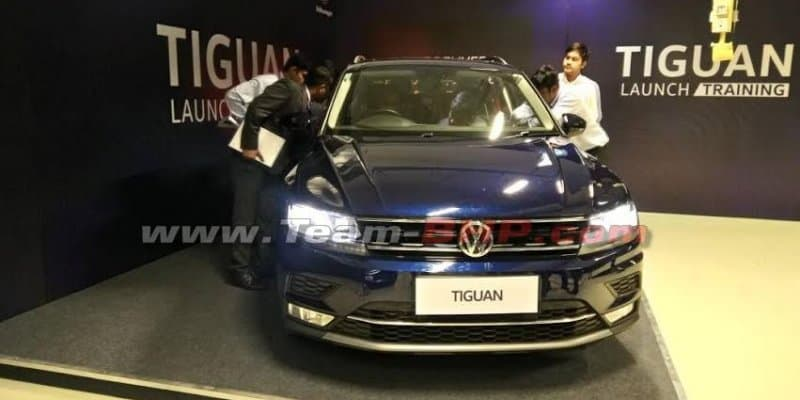 Volkswagen Tiguan Spotted at Dealership ahead of launch